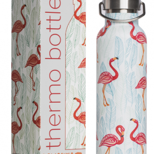 """Tranquillo Thermosflasche """"pink Flamingos"""""""