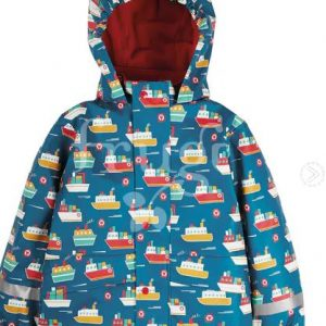 """Frugi Puddle Buster Coat """"Sail the Seas"""""""